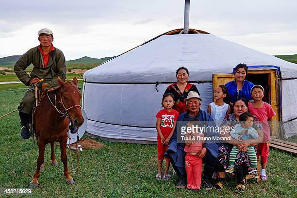 Mongolia, Tov province, nomad camp
