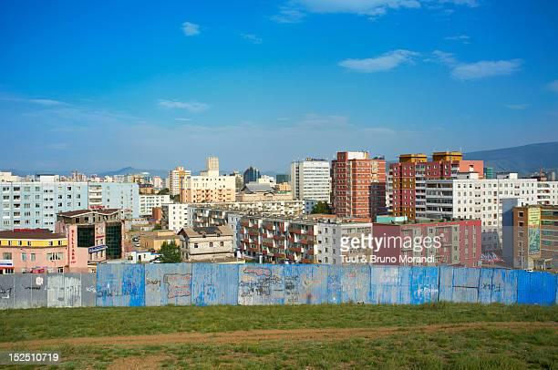 Mongolia, Ulan Bator, Cityscape from Tasgany Ovoo