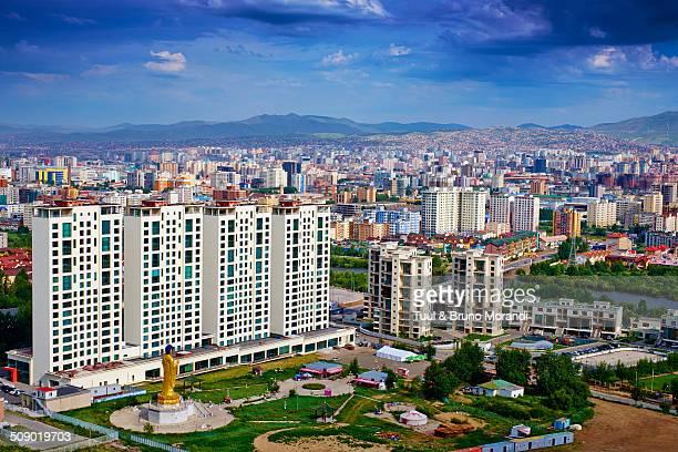 Mongolia, Ulan Bator, cityscape