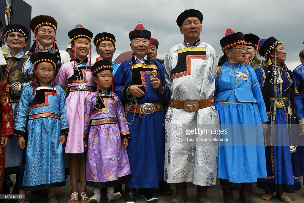 Mongolia, Ulan Bator, costume festival