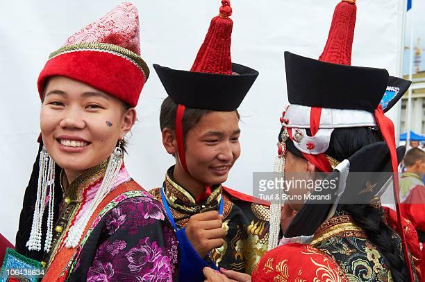 Mongolia, Ulan Bator, costume parade