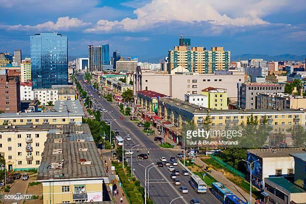 Mongolia, Ulan Bator, Peace avenue