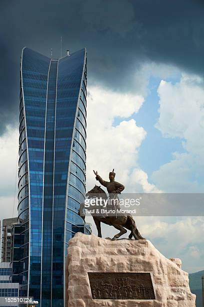 Mongolia, Ulan Bator, Sukhbaatar square