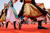 Mongolian dance.