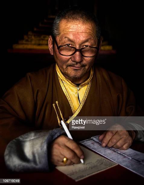 Mongolian Monk Cleric