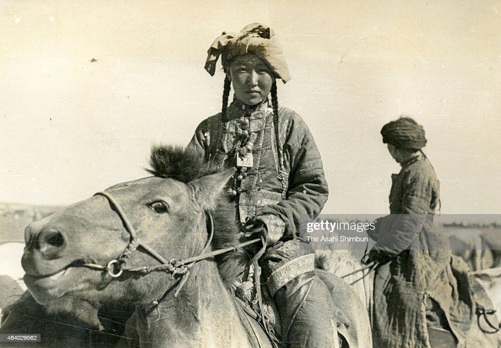 Hulun Buir China  city photos : Mongolian nomad women circa September 1939 in Hulun Buir, China. The ...