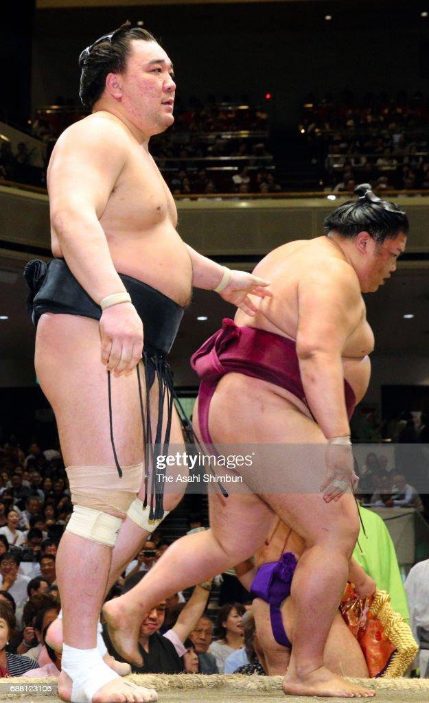 Grand Sumo Summer Tournament - Day 11
