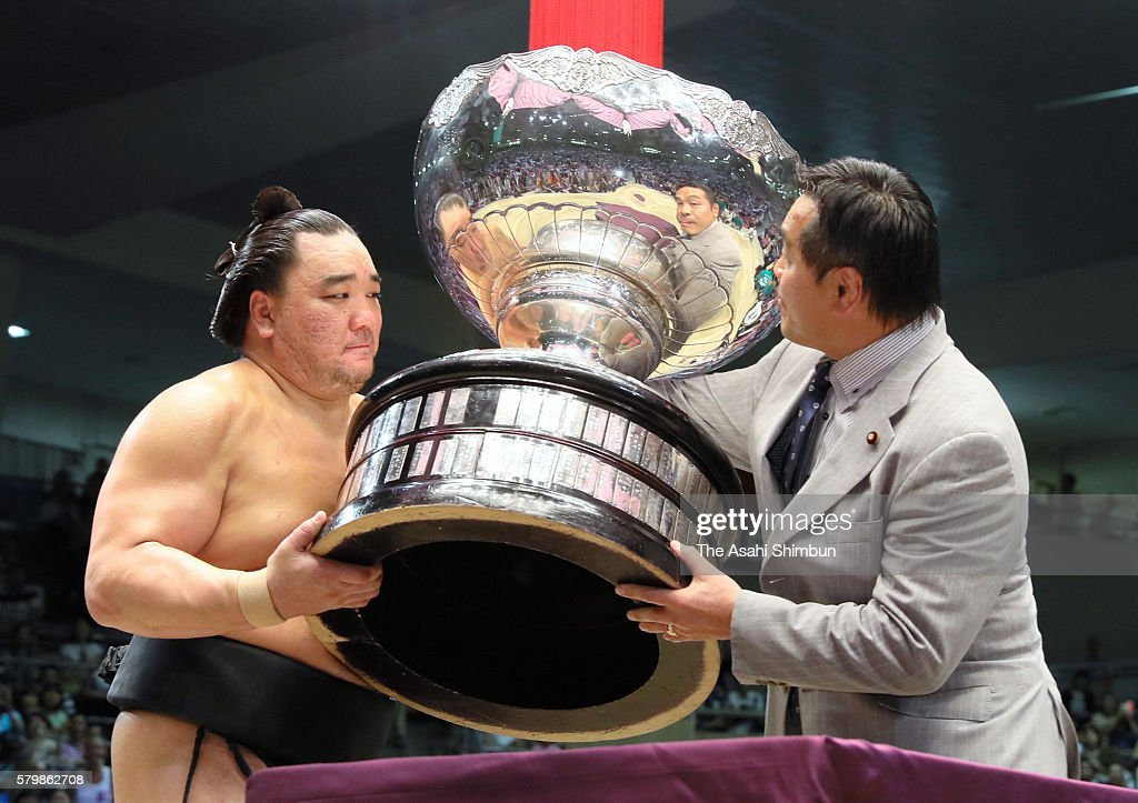 Grand Sumo Nagoya Tournament - Day 15