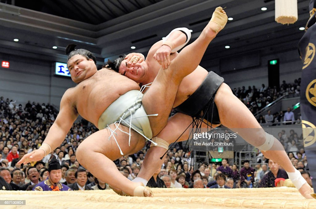 Grand Sumo Spring Tournament - Day 12