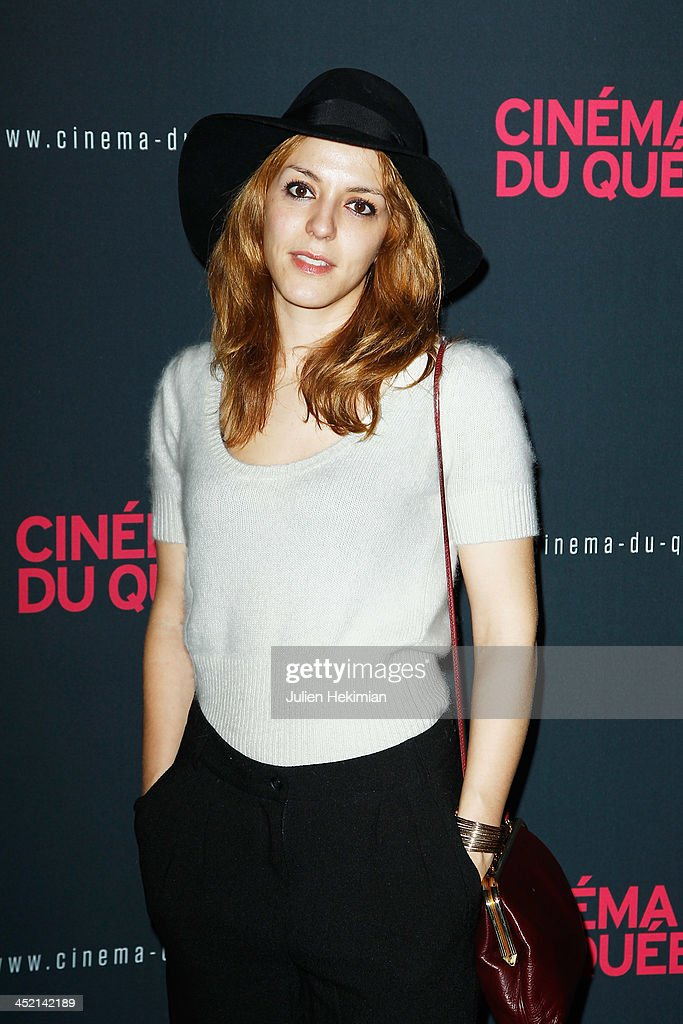 <a gi-track='captionPersonalityLinkClicked' href=/galleries/search?phrase=Monia+Chokri&family=editorial&specificpeople=6948788 ng-click='$event.stopPropagation()'>Monia Chokri</a> attends 'Cinema Du Quebec' Opening Party In Paris at Forum Des Images on November 26, 2013 in Paris, France.