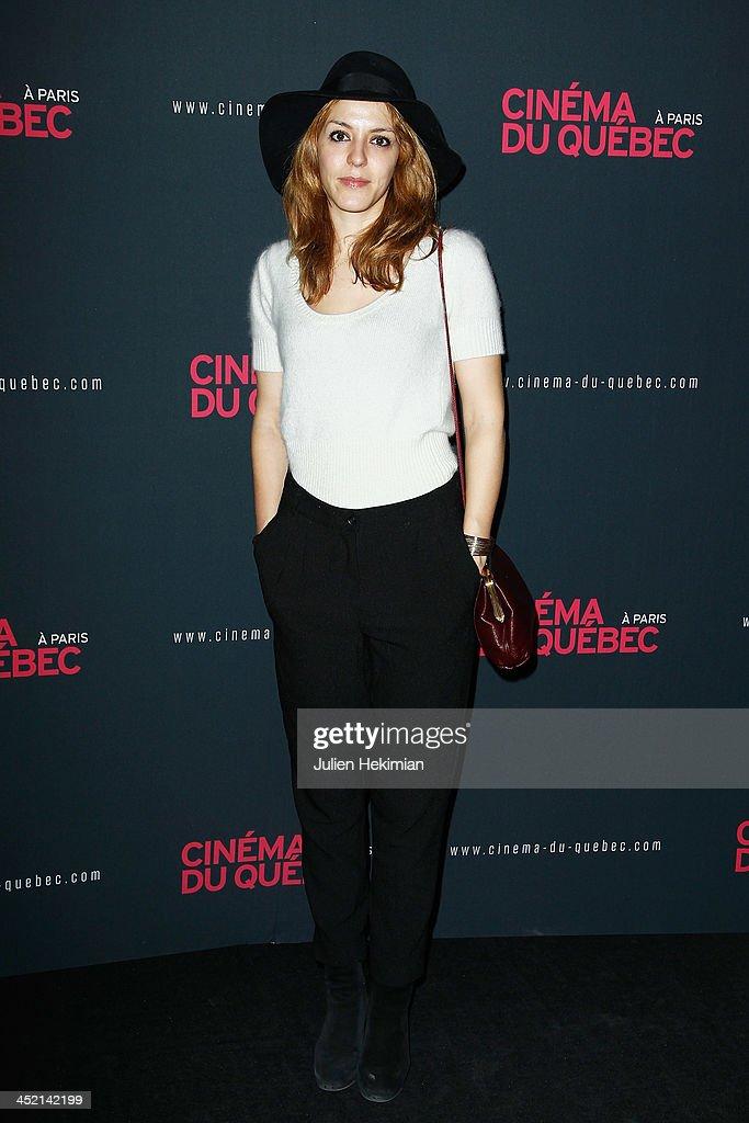 'Cinema Du Quebec' : Opening Party In Paris