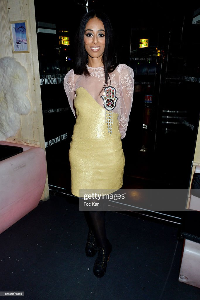 Monia Kashmire attends the Cherie 25 NRJ Party at VIP Room Theatre on January 15, 2013 in Paris, France.