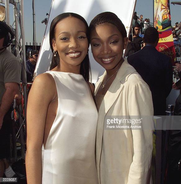Monica and Brandy at the 1999 Grammy Awards held in Los Angeles CA on February 24 1999 Photo by Frank Micelotta/ImageDirect