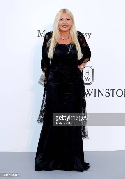 Monica Bacardi arrives at the amfAR Gala Cannes 2017 at Hotel du CapEdenRoc on May 25 2017 in Cap d'Antibes France