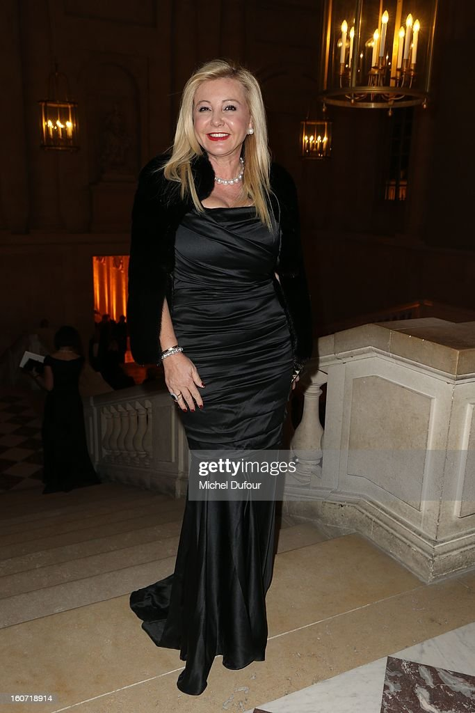 Monica Baccardi attends the David Khayat Association 'AVEC' Gala Dinner at Chateau de Versailles on February 4, 2013 in Versailles, France.