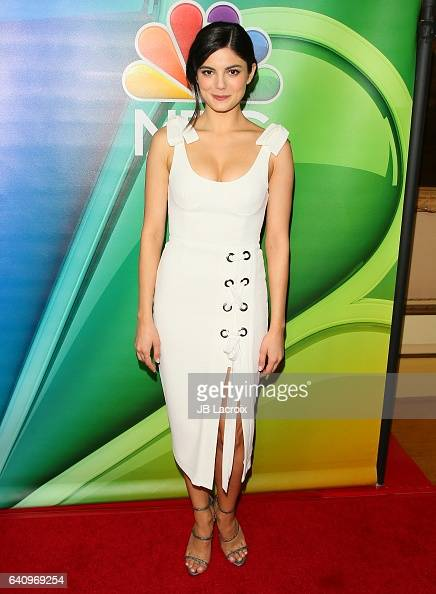 Monica Barbaro attends the 2017 NBCUniversal Winter Press Tour Day 2 at Langham Hotel on January 18 2017 in Pasadena California