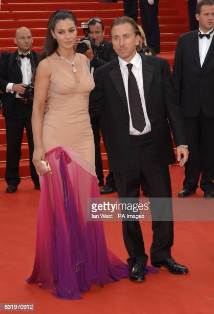 Monica Bellucci and Tim Roth arrive for the premiere of Transylvania the closing film at the 59th Cannes Film Festival at the Palais des Festival...
