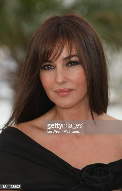 Monica Bellucci arrives at a photocall for new film An Italian History during the 61st Cannes Film Festival at the Palais de Festival in Cannes France