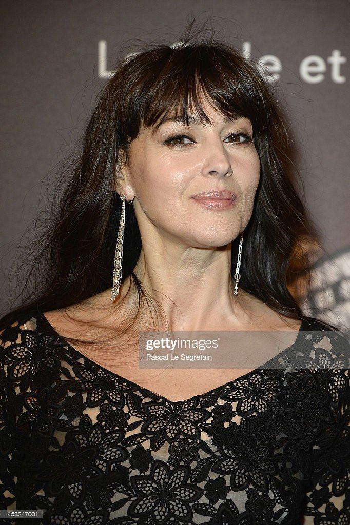 Monica Bellucci arrives at 'Cartier: Le Style et L'Histoire' Exhibition Private Opening at Le Grand Palais on December 2, 2013 in Paris, France.