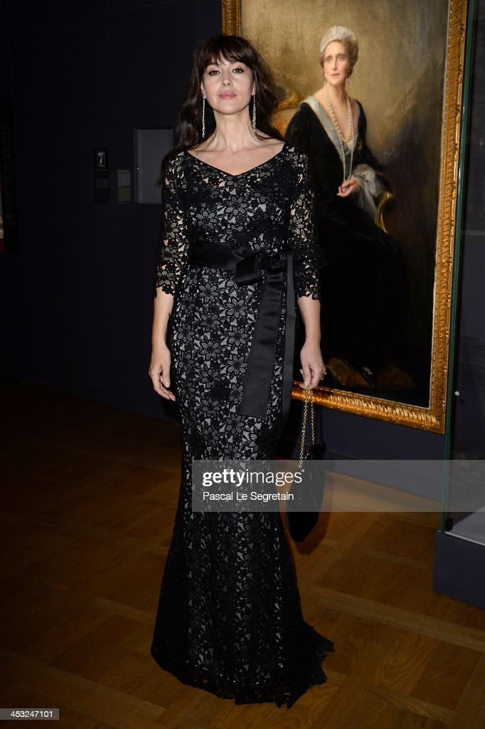 <a gi-track='captionPersonalityLinkClicked' href=/galleries/search?phrase=Monica+Bellucci&family=editorial&specificpeople=204777 ng-click='$event.stopPropagation()'>Monica Bellucci</a> arrives at 'Cartier: Le Style et L'Histoire' Exhibition Private Opening at Le Grand Palais on December 2, 2013 in Paris, France.