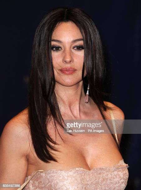 Monica Bellucci arrives for the opening party of the Mardan Palace hotel in Antalya Turkey