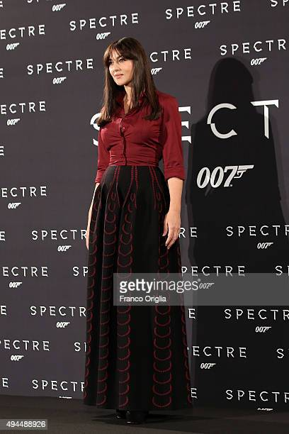 Monica Bellucci attends a photocall for 'Spectre' on October 27 2015 in Rome Italy