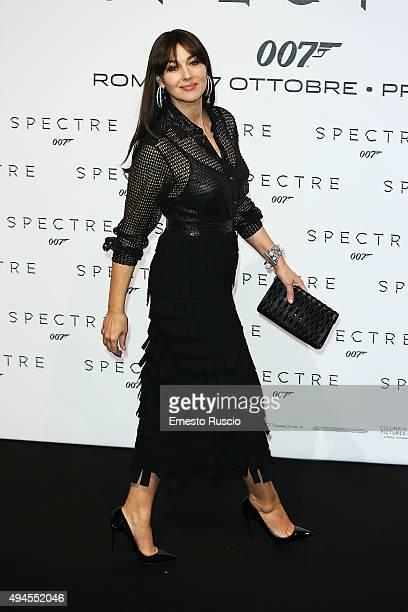 Monica Bellucci attends a premiere for 'Spectre' at Auditorium Della Conciliazione on October 27 2015 in Rome Italy