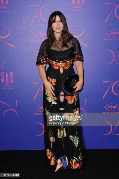 Monica Bellucci attends the 70th Anniversary Dinner during the 70th annual Cannes Film Festival at on May 23 2017 in Cannes France