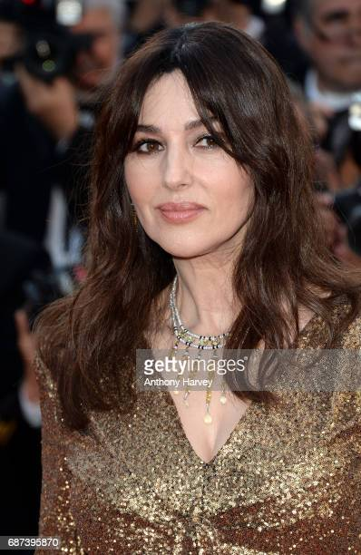 Monica Bellucci attends the 70th anniversary event during the 70th annual Cannes Film Festival at Palais des Festivals on May 23 2017 in Cannes France