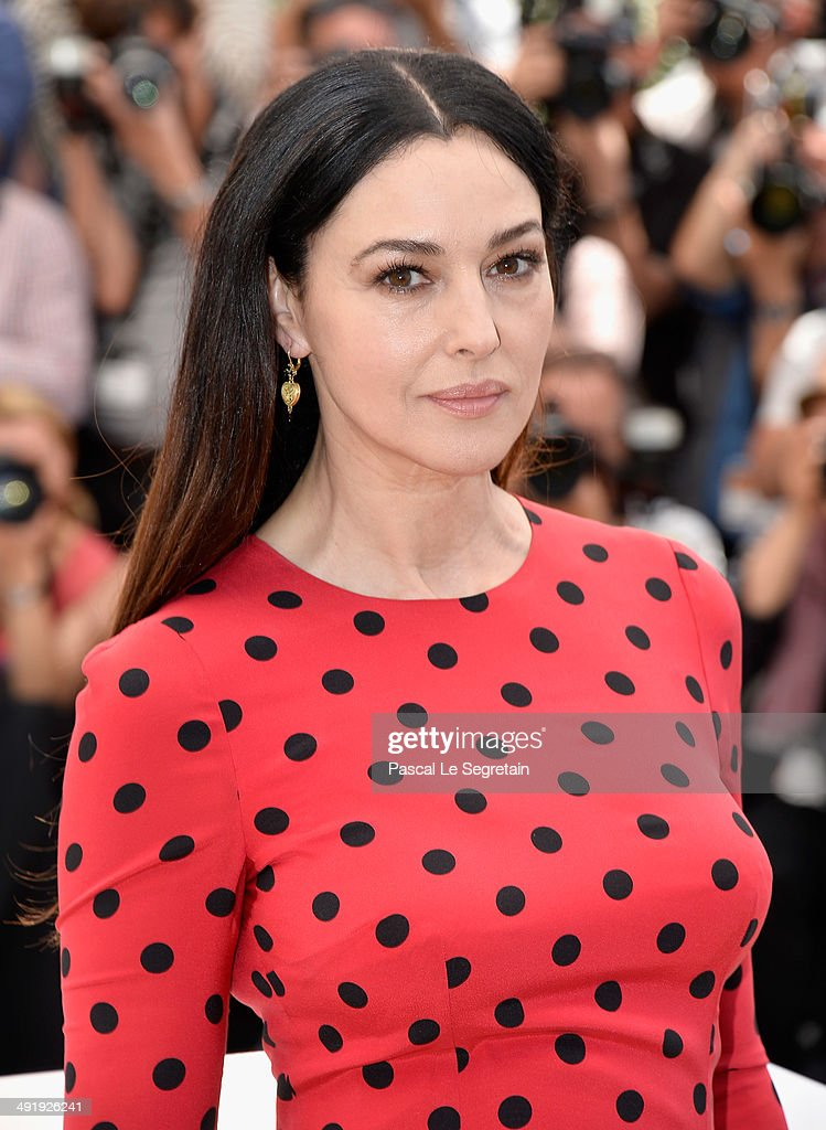Monica Bellucci attends the 'La Meraviglie' photocall during the 67th Annual Cannes Film Festival on May 18 2014 in Cannes France