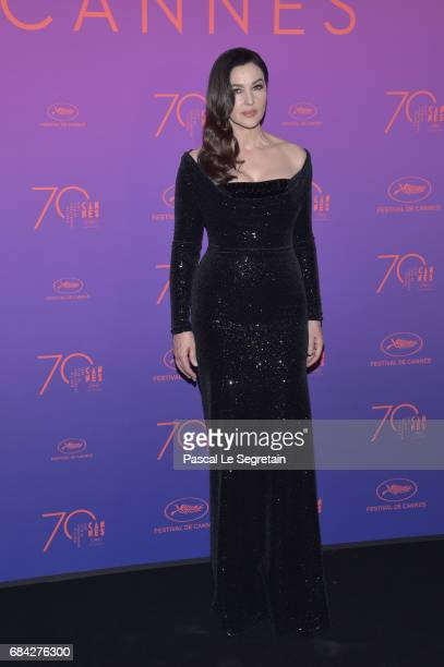 Monica Bellucci attends the Opening Gala Dinner during the 70th annual Cannes Film Festival at Palais des Festivals on May 17 2017 in Cannes France