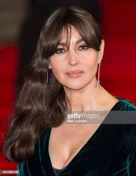 Monica Bellucci attends the Royal Film Performance of 'Spectre' at Royal Albert Hall on October 26 2015 in London England