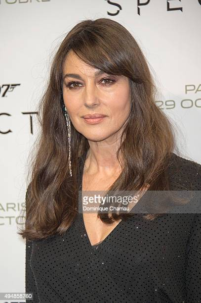 Monica Bellucci attends the 'Spectre' Paris Premiere at Le Grand Rex on October 29 2015 in Paris France