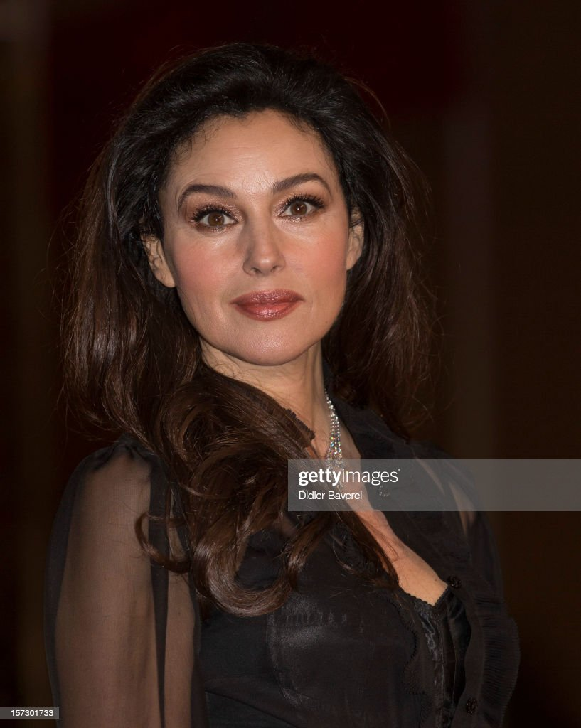 Monica Bellucci attends the Tribute to Hindi Cinema ceremony at the 12th Marrakech international Film Festival on November 30, 2012 in Marrakech, Morocco.