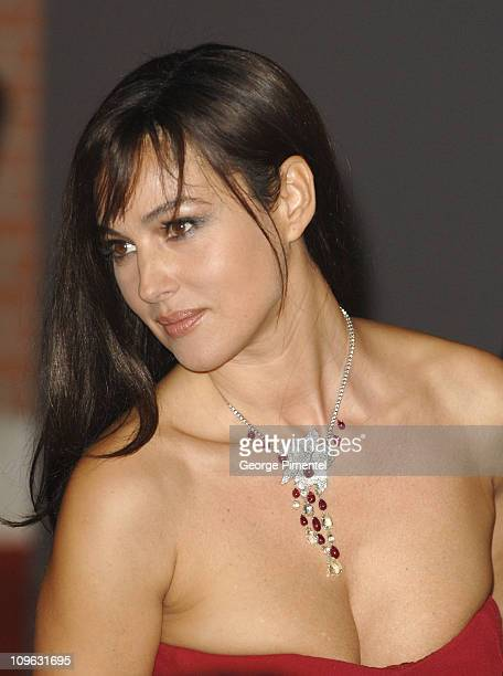 Monica Bellucci during 1st Annual Rome Film Festival 'Napoleon and Me' Premiere Arrivals at Auditorium Parco della Musica in Rome Italy