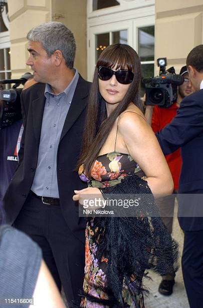 Monica Bellucci during 2005 Venice Film Festival Celebrity Sightings September 3 2005 at Hotel De Bains in Venice Italy