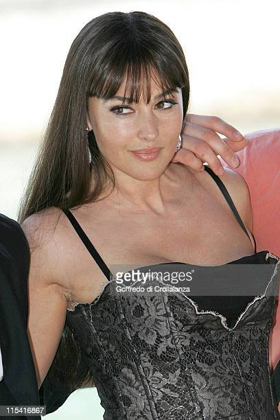 Monica Bellucci during 2005 Venice Film Festival 'Four Brothers' Photocall at Casino Palace in Venice Italy