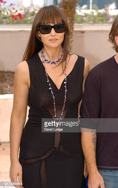 Monica Bellucci during 2006 Cannes Film Festival Jury Photo Call at Palais du Festival in Cannes France