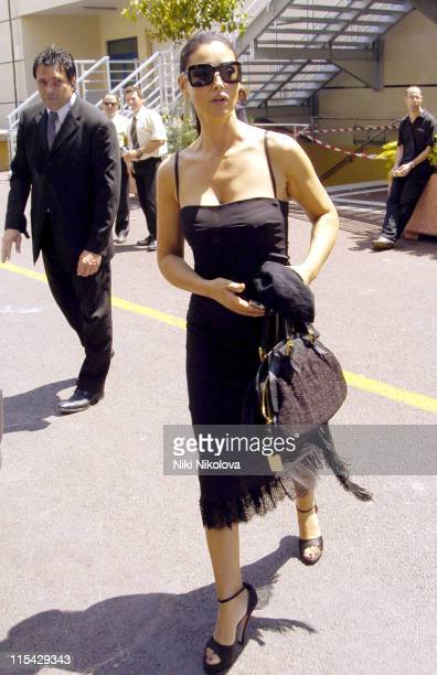 Monica Bellucci during 2006 Cannes Film Festival Seen Around Town Day 7 in Cannes France