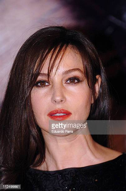 Monica Bellucci during Dior Party in Madrid November 15 2006 in Madrid Spain