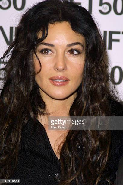 Monica Bellucci during 'Irreversible' London Screening at National Film Theatre in London Great Britain