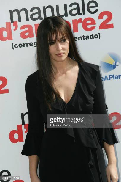 Monica Bellucci during 'Manuale D'Amore 2' Photo Call February 15 2007 at Ritz Hotel in Madrid Spain