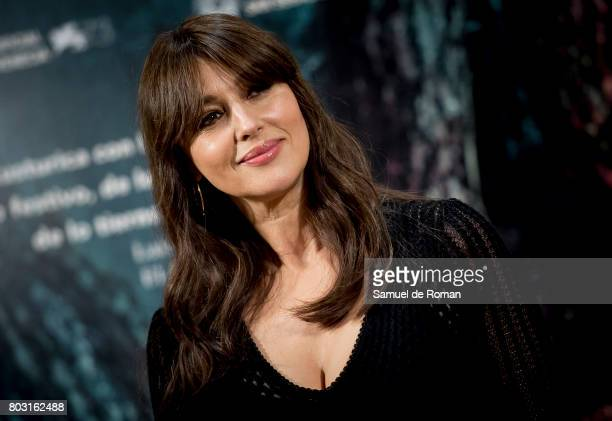 Monica Bellucci during 'On The Milky Road' Madrid Photocall on June 29 2017 in Madrid Spain