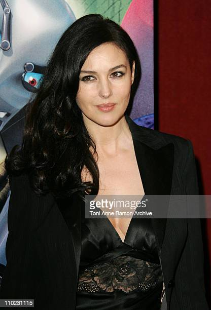 Monica Bellucci during 'Robots' Paris Premiere at UGC Normandy in Paris France