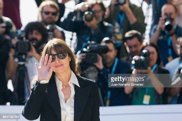 Monica Bellucci is seen arriving at 65th San Sebastian Film Festival on September 27 2017 in San Sebastian Spain
