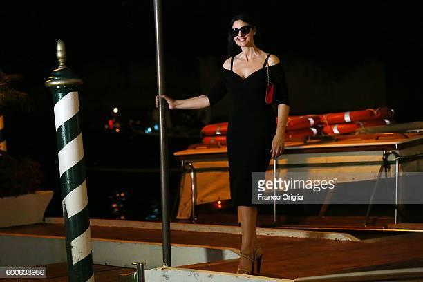 Monica Bellucci is seen during 73rd Venice Film Festival on September 8 2016 in Venice Italy