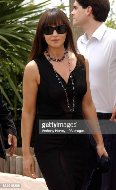 Monica Bellucci poses for photographers during the photocall for the Cannes Jury in the Palais du Festival Cannes