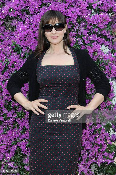 Monica Bellucci poses for the 'Monica Bellucci Photocall' At The 57th Taormina Film Fest 2011 on June 12 2011 in Taormina Italy