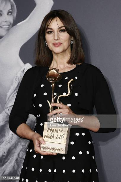 Monica Bellucci receives The Virna Lisi Award at Auditorium Parco Della Musica on November 7 2017 in Rome Italy