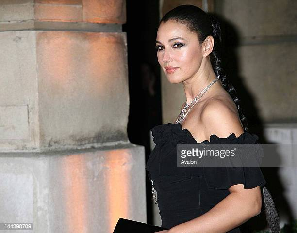 Monica Belluci Arrivals at the Cartier launch of Inde Mysterieuse jewellery range Lancaster House London 19th September 2007 Cartier International...